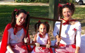 Fiesta temática caperucita roja fotos